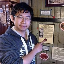 Museum Assistant Mark talks podcasts and Japanese Canadian history,