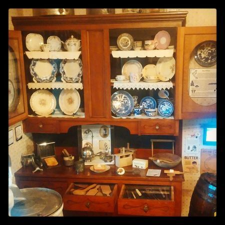 China Hutch and Butter Making Makeover,