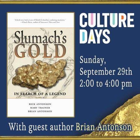 Culture Days: The Mystery of Slumach