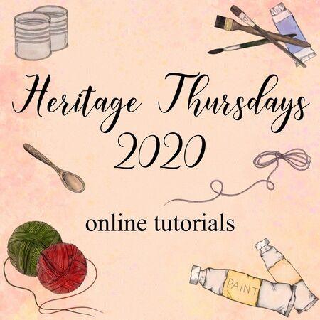 Heritage Thursdays 2020 - Online Tutorials,