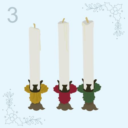 12 days of Christmas - Day Three,