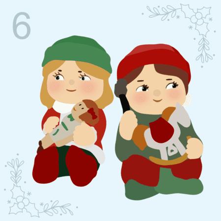 12 Days of Christmas - Day Six,