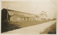 Alouette Peat shed/office c.1942