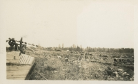 Conveyor belt from the fields at the Alouette Peat Farm c. 1940s