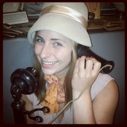 One of our may fabulous vintage hats!