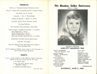 Brochure for Pitt Meadows Day 1964