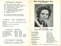 Brochure for Pitt Meadows Day 1963