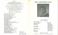 Brochure for Pitt Meadows Day