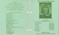 Brochure for Pitt Meadows Day 1977