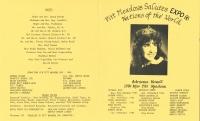 Brochure for Pitt Meadows Day 1986