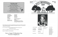 Brochure for Pitt Meadows Day 1992