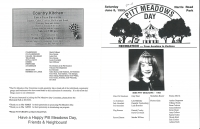 Brochure for Pitt Meadows Day 1993
