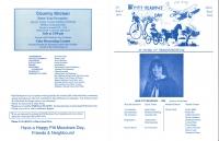 Brochure for Pitt Meadows Day 1994