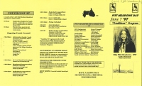 Brochure for Pitt Meadows Day 1997