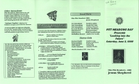Brochure for Pitt Meadows Day 2000