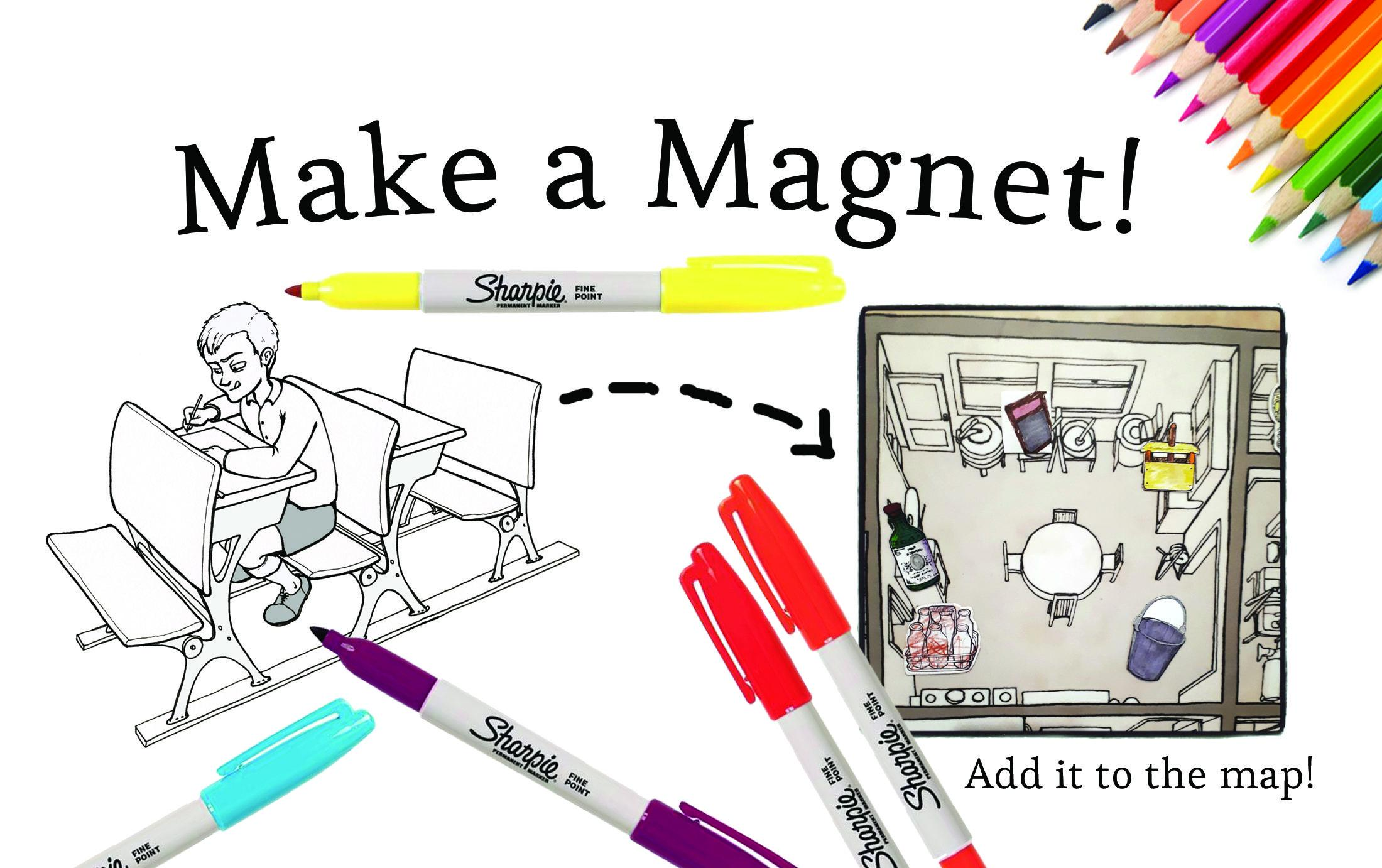 Make a Magnet craft at the Pitt Meadows Museum