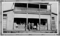 The back of the General store 1921