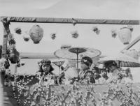 Japanese Canadian float at the May Day Parade