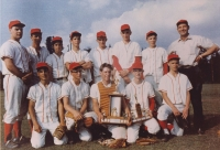 Pitt Meadows Baseball team, 1963