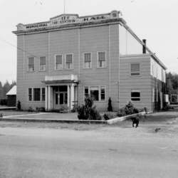 Pitt Meadows Municipal Hall, 1948c.