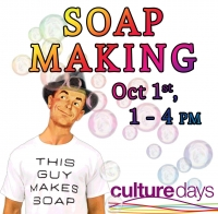 Soap Making for Culture Day at the Museum