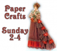 Victorian Paper Crafts at the Pitt Meadows Museum