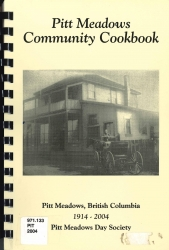 Pitt Meadows Community Cookbook
