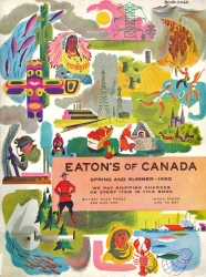 EATON'S OF CANADA SPRING AND SUMMER 1960