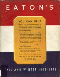 EATON'S FALL AND WINTER 1942-1943