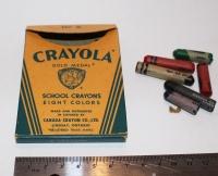 Antique Crayola Crayons