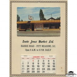 Davie Jones Promotional Calendar