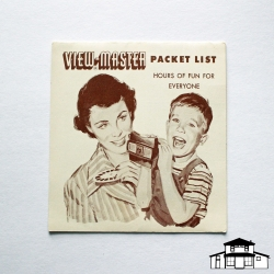 Viewmaster Packet List