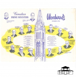 Prime Minister Place Mat