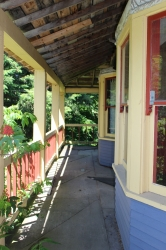 The Alvo Von Alvensleben Houses porch